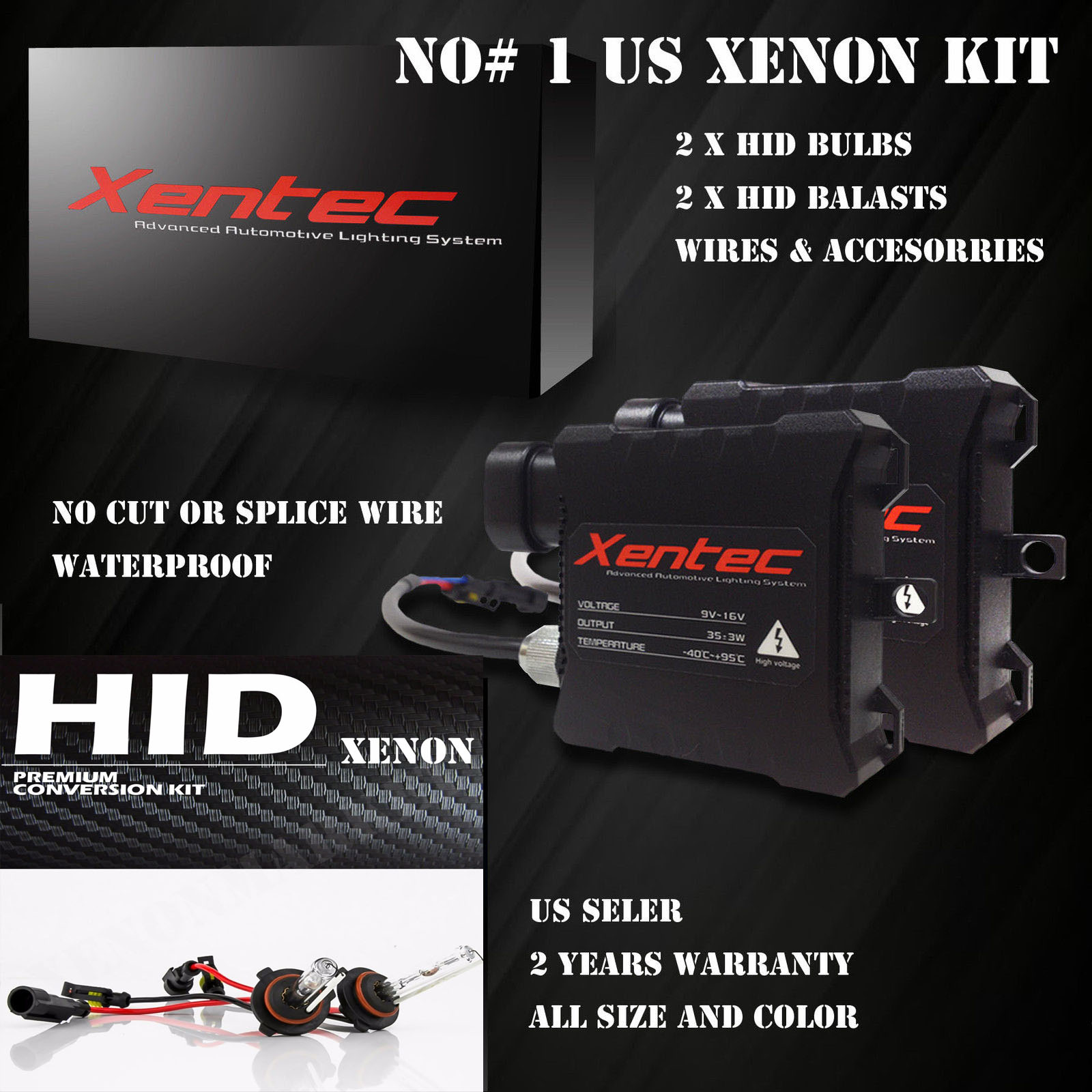 Hid Kit For Nissan Titan Versa Xterra Altima Maxima Sentra