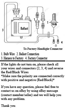 instruction xentec h13 wiring diagram xentec hid kit installation \u2022 wiring hi/lo hid wiring diagram at reclaimingppi.co
